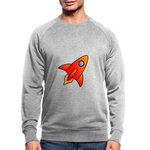 Red Rocket - Men's Organic Sweatshirt