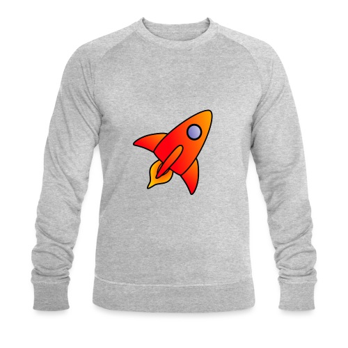 Red Rocket - Men's Organic Sweatshirt by Stanley & Stella