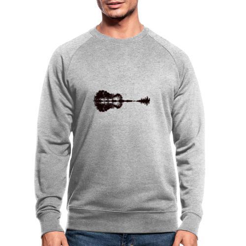 City of Guitar - Männer Bio-Sweatshirt