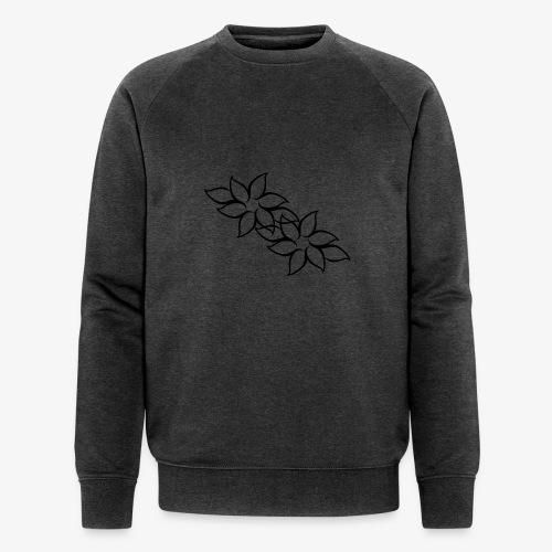 flowers - Økologisk Stanley & Stella sweatshirt til herrer