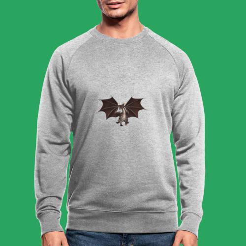 dragon logo color - Felpa ecologica da uomo