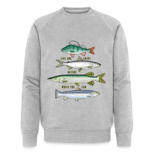 FOUR FISH - Tekstiili- ja lahjatuotteet (10-34B) - Miesten luomucollegepaita
