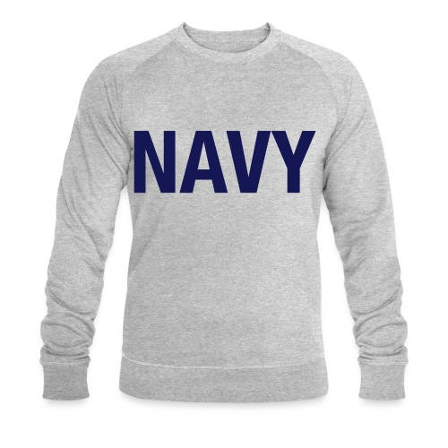 NAVY - Men's Organic Sweatshirt by Stanley & Stella