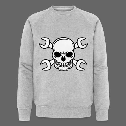 MEKKER SKULL - Økologisk Stanley & Stella sweatshirt til herrer