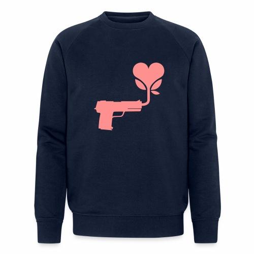 Local Underground logo flat - Men's Organic Sweatshirt