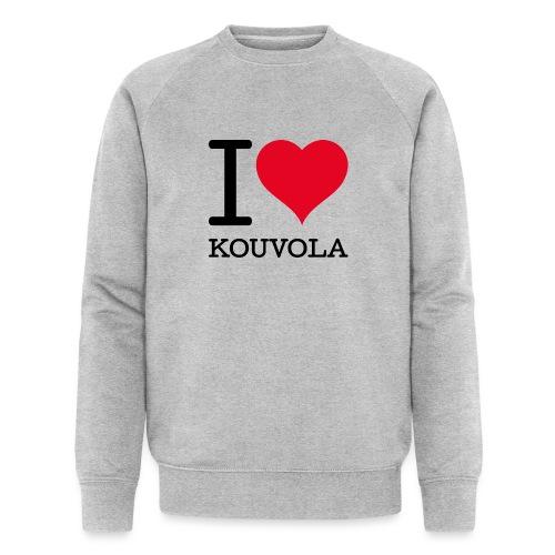 I love Kouvola - Stanley & Stellan miesten luomucollegepaita