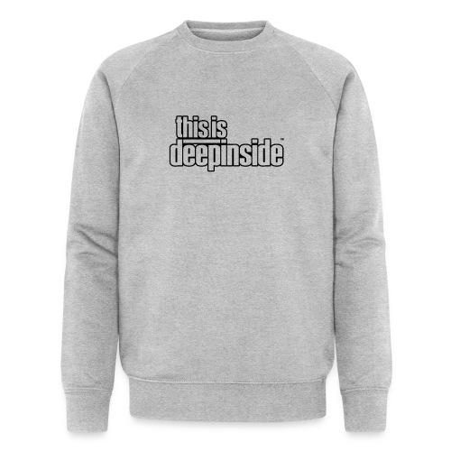 This is DEEPINSIDE logo black - Men's Organic Sweatshirt by Stanley & Stella