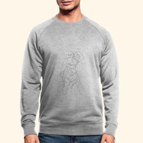 Warrior - Økologisk sweatshirt for menn
