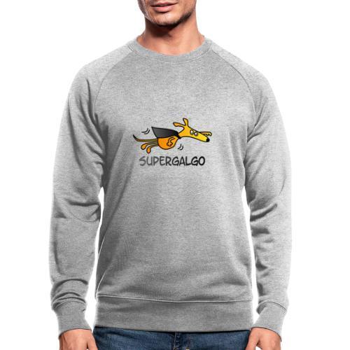 Supergalgo - Männer Bio-Sweatshirt