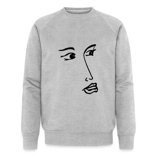 verträumt - Männer Bio-Sweatshirt
