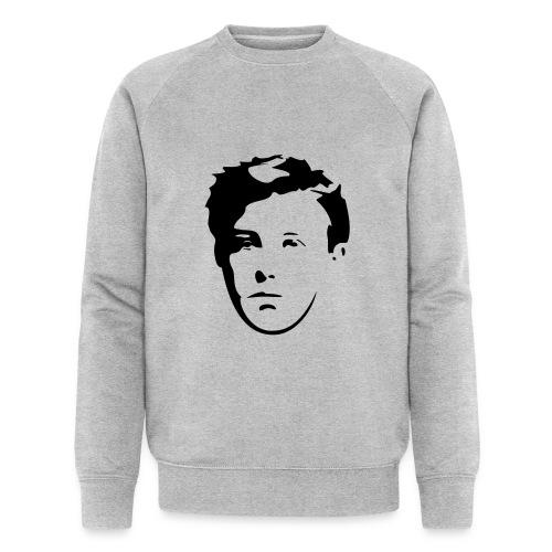 Arthur Rimbaud visage - Sweat-shirt bio