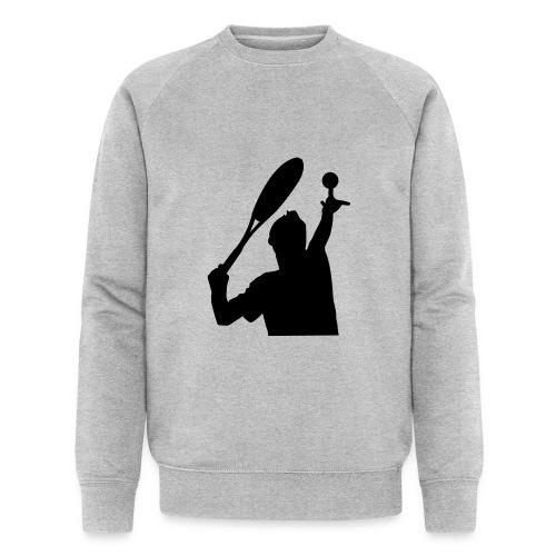 tennis silouhette 5 - Sweat-shirt bio Stanley & Stella Homme