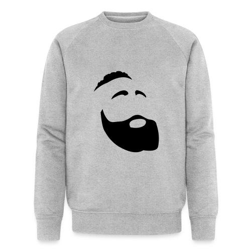 Il Barba, the Beard black - Felpa ecologica da uomo