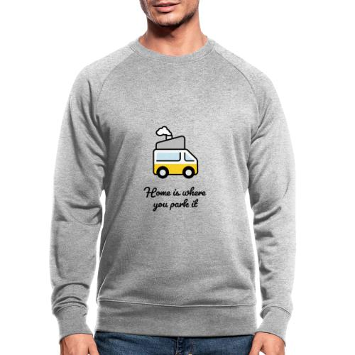 Home is where you park it - DUNKEL - Männer Bio-Sweatshirt von Stanley & Stella