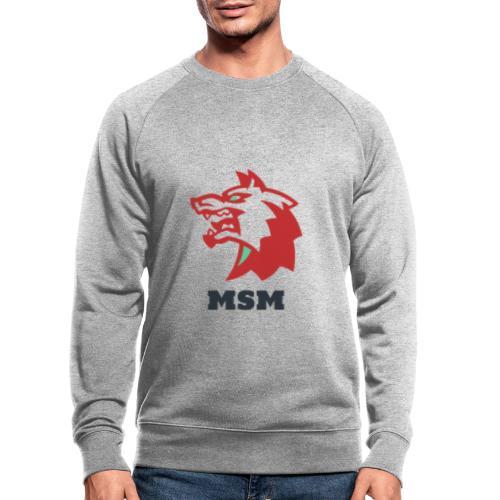 MSM WOLF - Økologisk sweatshirt til herrer