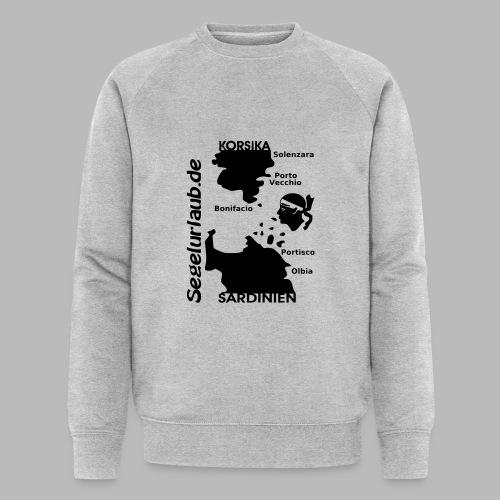 Korsika Sardinien Mori Shirt - Männer Bio-Sweatshirt