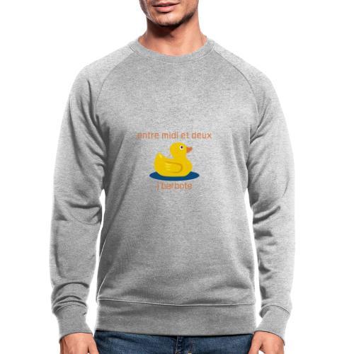 Barbote orange XL - AW20/21 - Sweat-shirt bio