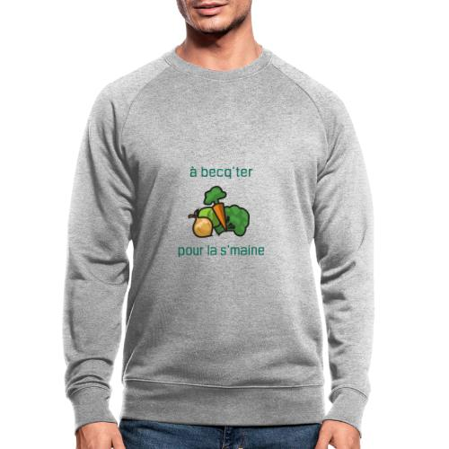 Becqueter green XL - AW20/21 - Sweat-shirt bio
