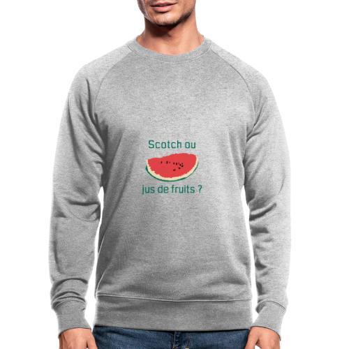 Scotch green XL - AW20/21 - Sweat-shirt bio