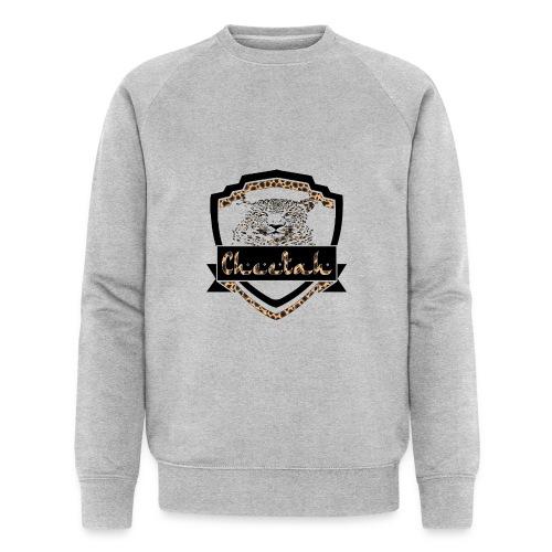 Cheetah Shield - Men's Organic Sweatshirt by Stanley & Stella