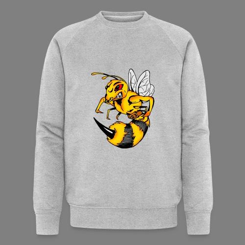 Wespe - Männer Bio-Sweatshirt von Stanley & Stella