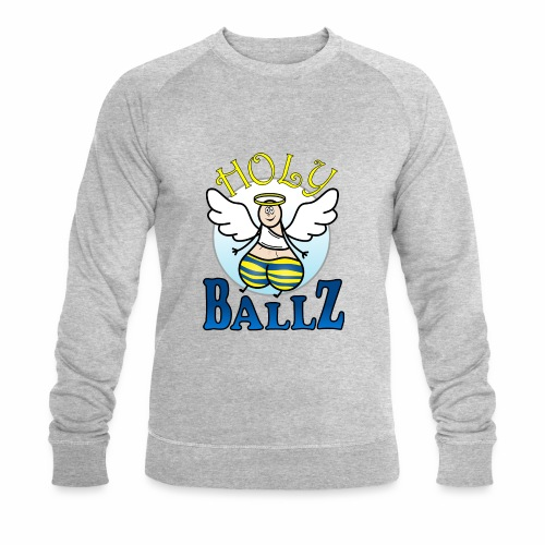 Holy Ballz Charlie - Men's Organic Sweatshirt by Stanley & Stella