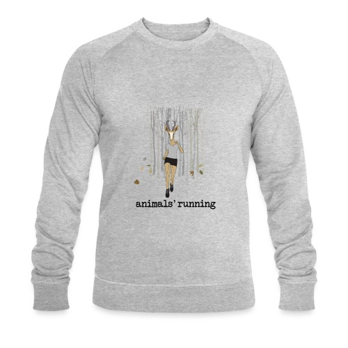 Antilope running - Sweat-shirt bio Stanley & Stella Homme