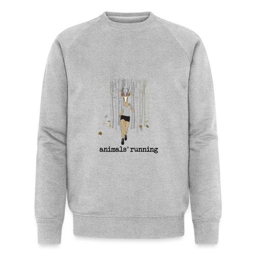 Antilope running - Sweat-shirt bio