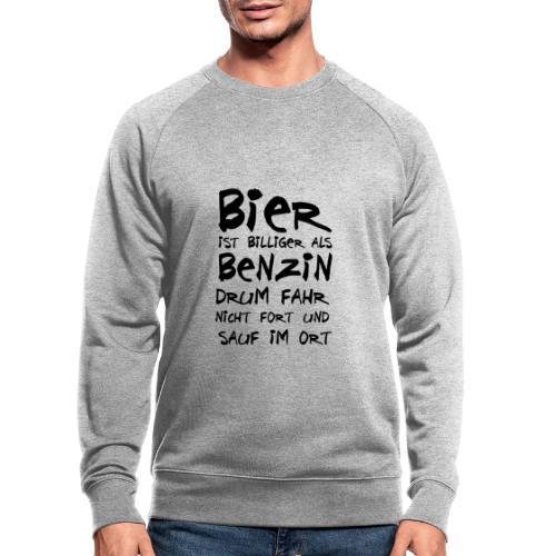 Bier ist Billiger - Männer Bio-Sweatshirt