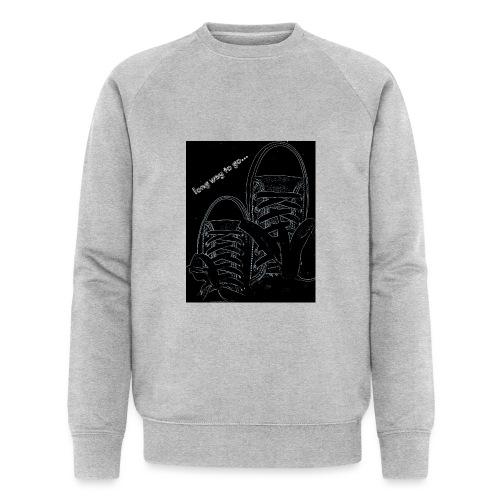 Long way to go - Men's Organic Sweatshirt