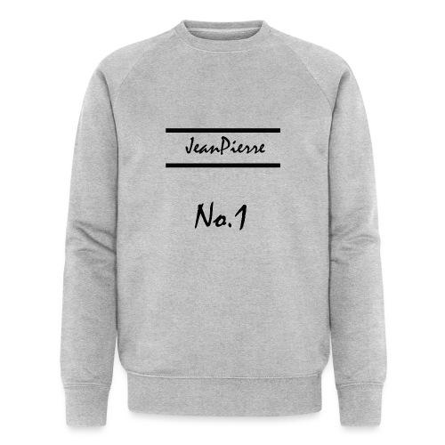 JeanPierreNo1 png - Männer Bio-Sweatshirt