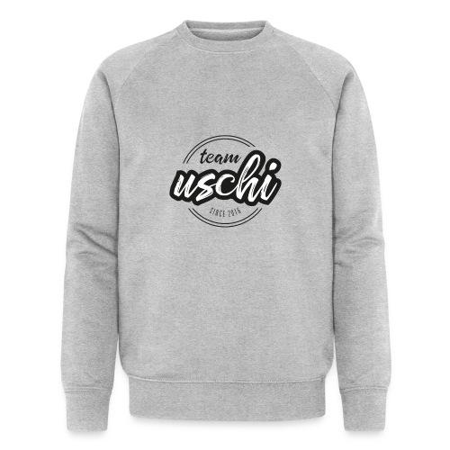 Team Uschi Schwarz original - Männer Bio-Sweatshirt von Stanley & Stella