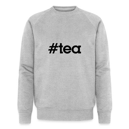 Hashtag Tea - noir - Sweat-shirt bio Stanley & Stella Homme