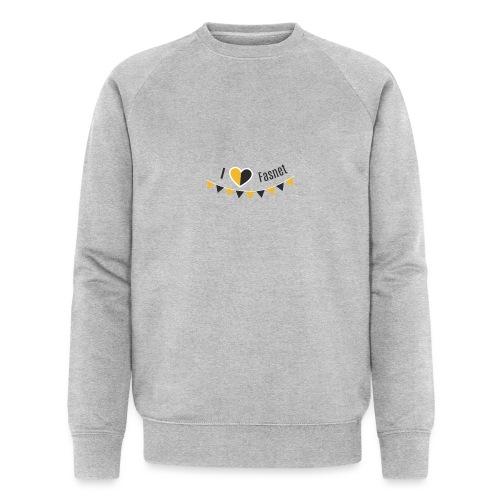 I love Fasnet - Männer Bio-Sweatshirt von Stanley & Stella