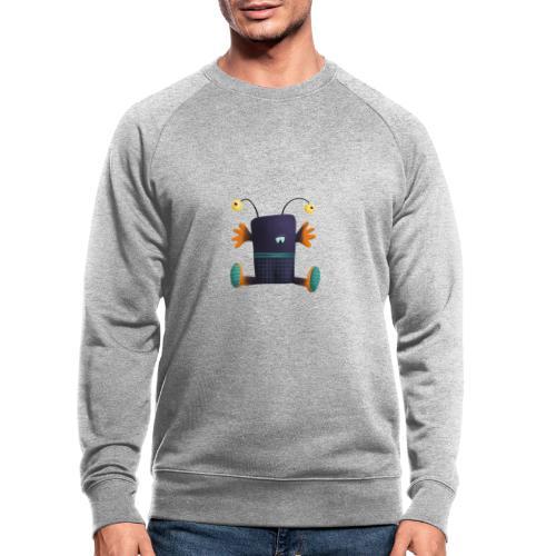 Umarme mich Monster mit Stielaugen - Männer Bio-Sweatshirt