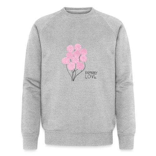 Himbeerbonbon Blumenstrauß - Männer Bio-Sweatshirt von Stanley & Stella