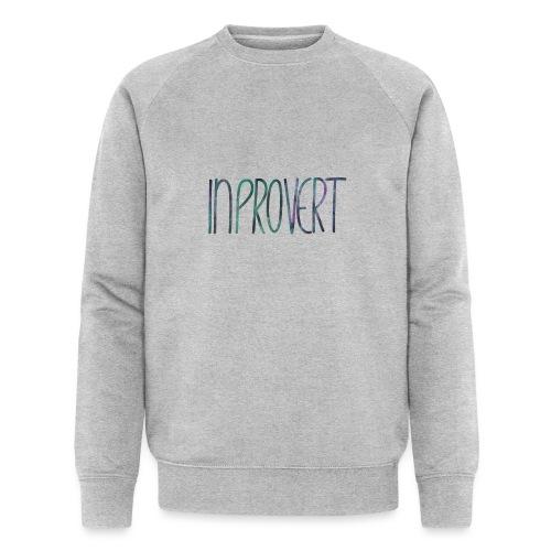 Introvert 3 - inprovert - Männer Bio-Sweatshirt von Stanley & Stella