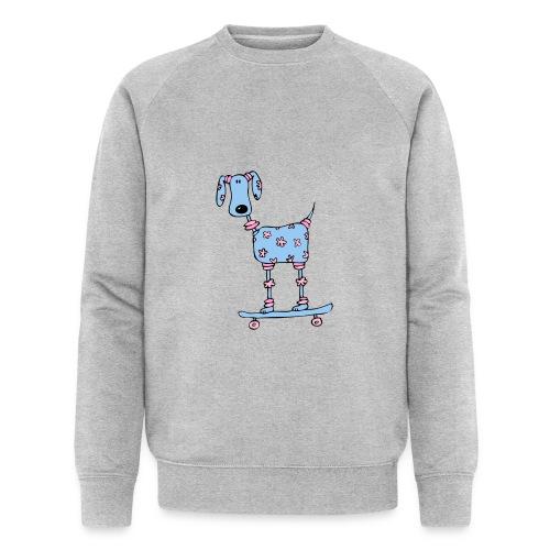 afbeelding skatehondokok - Mannen bio sweatshirt van Stanley & Stella