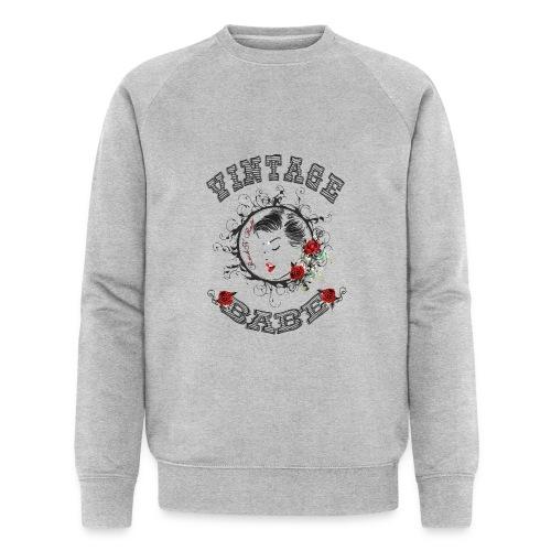 Vintagebabe - Männer Bio-Sweatshirt von Stanley & Stella