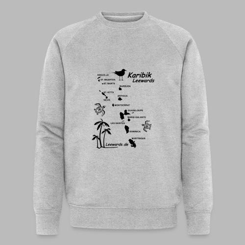 Karibik Leewards Segeln Leward Islands - Männer Bio-Sweatshirt von Stanley & Stella