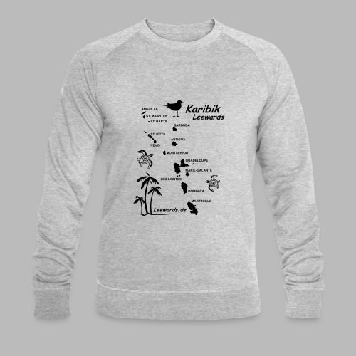 Karibik Leewards Segeln Leward Islands - Männer Bio-Sweatshirt