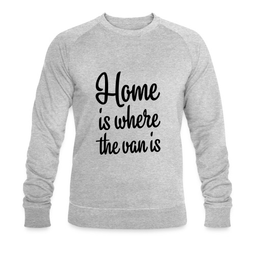 camperhome01b - Økologisk sweatshirt for menn fra Stanley & Stella