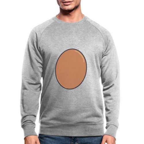 LIFE IS EGGCELLENT - Ekologisk sweatshirt herr