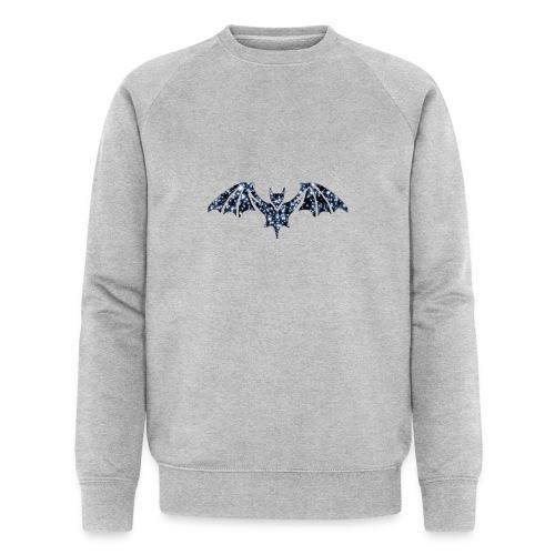 Galaxy BAT - Men's Organic Sweatshirt by Stanley & Stella