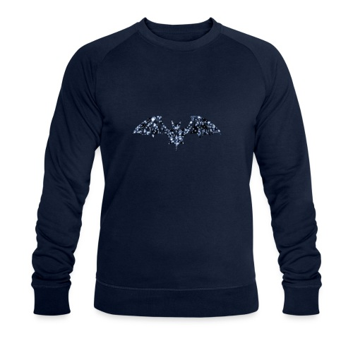 Galaxy BAT - Men's Organic Sweatshirt by Stanley & Stella