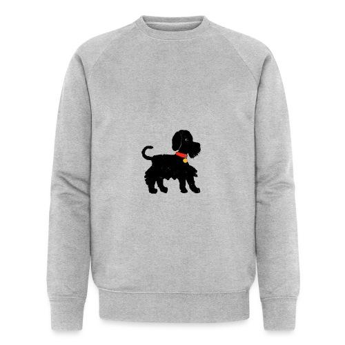 Schnauzer dog - Men's Organic Sweatshirt by Stanley & Stella