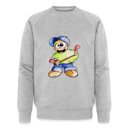 Elastizitätstest - Männer Bio-Sweatshirt von Stanley & Stella