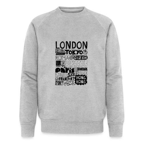 Villes du monde - Sweat-shirt bio Stanley & Stella Homme