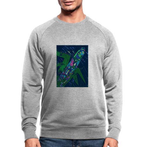 Mais blau - Männer Bio-Sweatshirt von Stanley & Stella