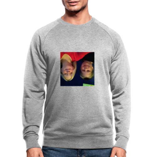 Gammelt logo - Økologisk sweatshirt til herrer